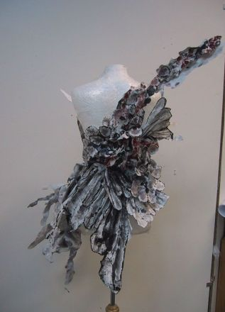 Rear view Paper Dress - 2006