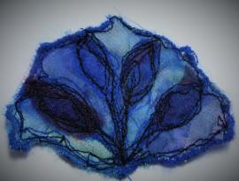 Petal of Blue Tulips