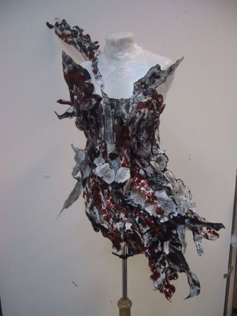 Front view Paper Dress - 2006