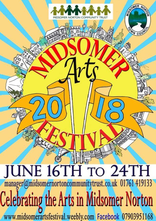 Midsomer Arts Festival 2018
